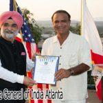 Duta Besar India untuk Amerika Berkunjung ke California Selatan