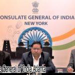 Konsulat India di New York Berinteraksi Dengan GOPIO